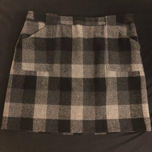 Liz Claiborne business casual plaid skirt
